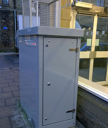 Air Quality Monitoring Enclosure